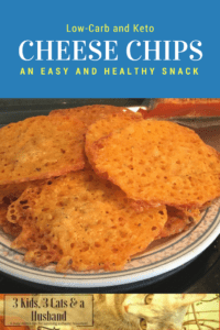 Low-Carb Baked Cheese Chips