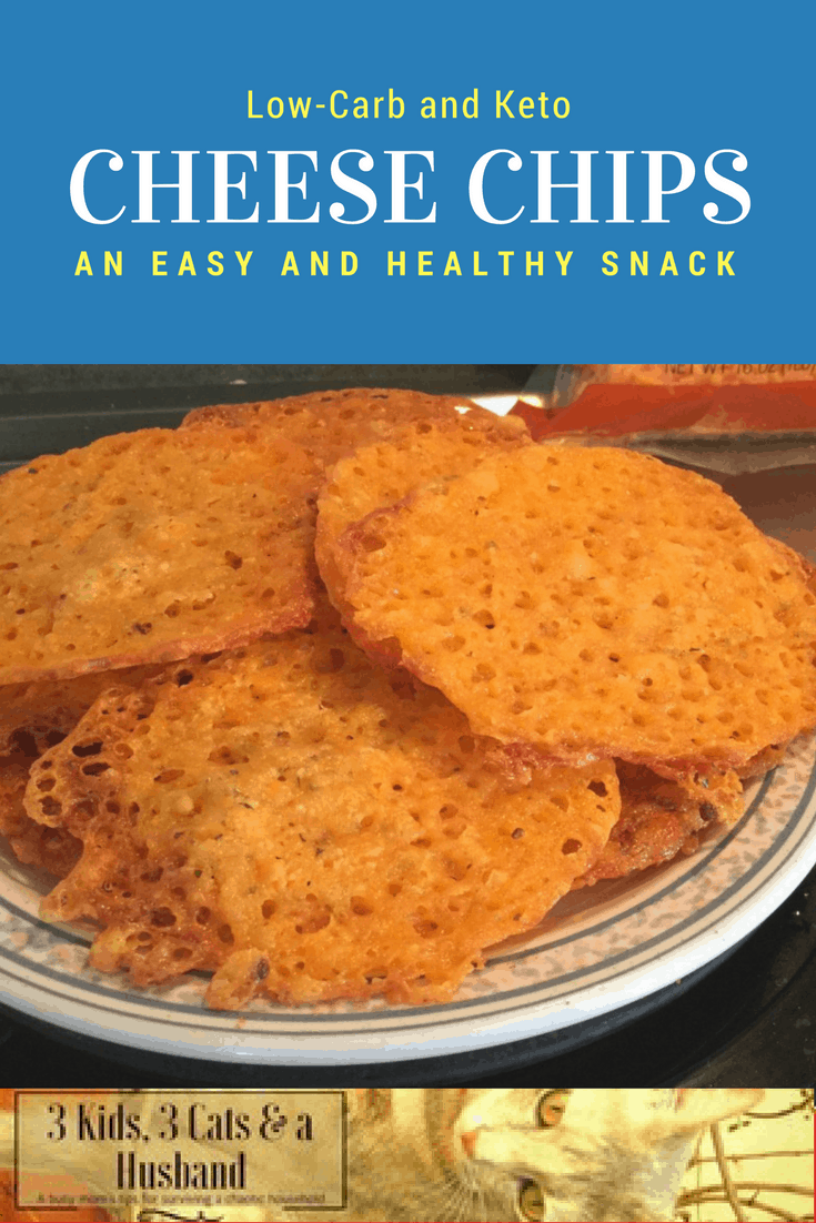 Baked Cheese Crisps — A quick and healthy snack