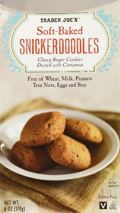 Trader Joe Soft baked snickerdoodles