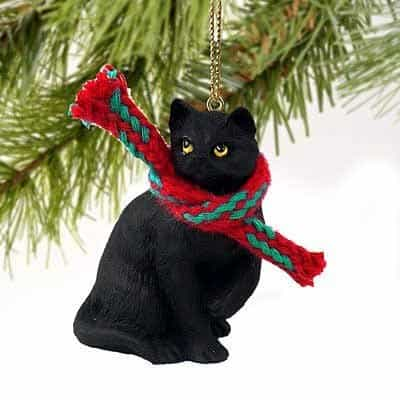 Unique christmas decoration gift for cat lovers