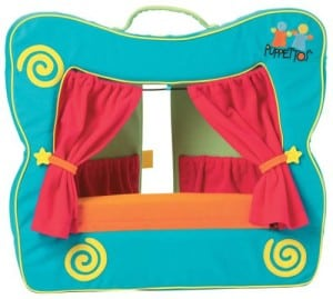 Finger Puppet Theater Stage for kids