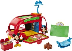 Mickey and Minnie Mouse Camper Toy for toddler boys and girls