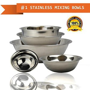 Stainless Steel Serving bowls set