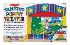 Tabletop Puppet Theater for Kids