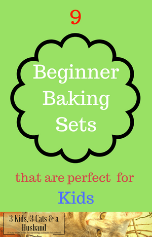 9 Baking sets for kids beginners