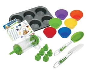 Beginners Cupcake Baking and Decorating Kit for Kids