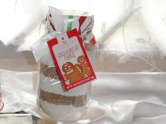 Gingerbread Cookie Mix -- optional addition to the set