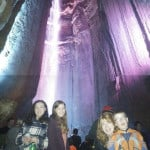 Inside Ruby Falls in Chattanooga