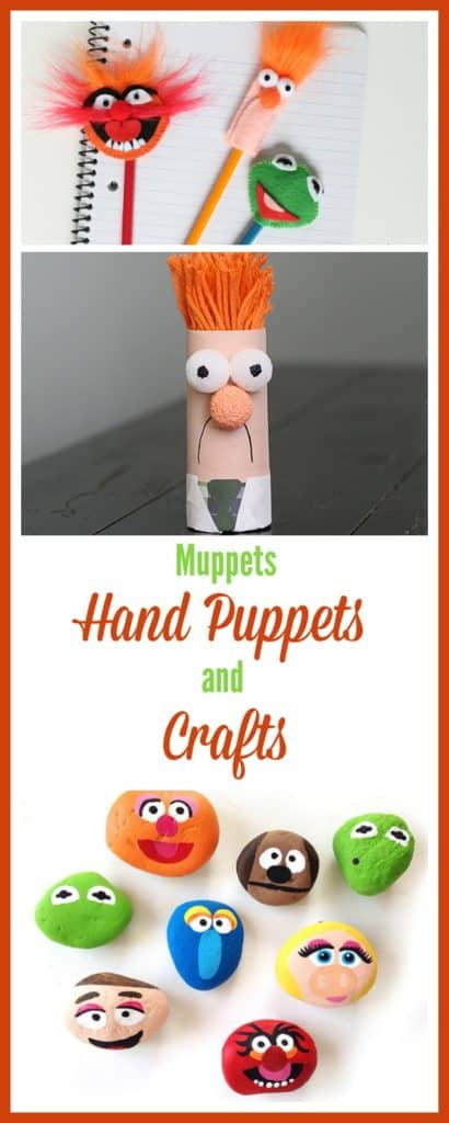 Crafts for kids and families of their favorite Jim Henson Muppets characters