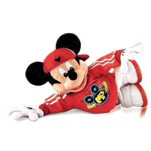Break dancing Mickey Mouse Toy