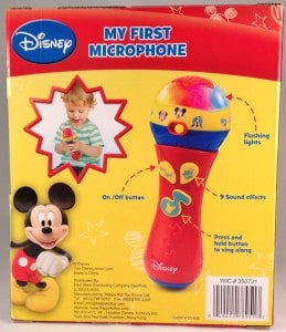 Review of Mickey Mouse Clubhouse My First Microphone Toy for Toddlers