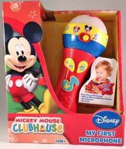 Mickey Mouse Clubhouse My First Microphone toy for toddlers review