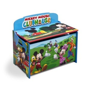 Mickey Mouse Clubhouse Toy Box for boys