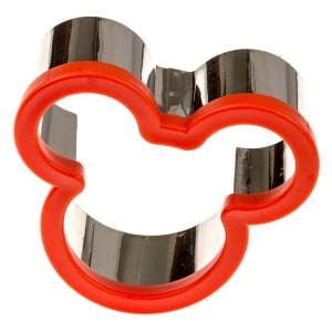Mickey Mouse Sandwich and Cookie Cutter
