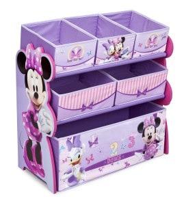 Minnie Mouse Toy storage bins Organizer for girls