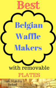 Best Belgian Waffle Makers with Removable Plates