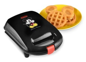 Small Mickey Mouse electric Waffle Maker Review