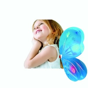 Glow in the dark butterly fairy wing costume
