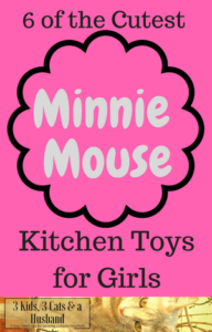 6 Minnie Mouse Kitchen Toys