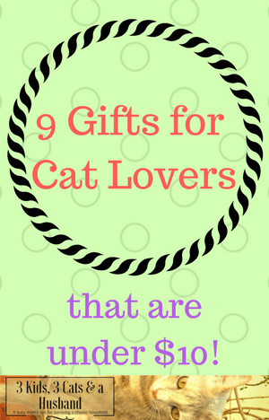 9 Purrfect Gifts for Cat Lovers Under $10