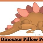 dinosaur pillow pets