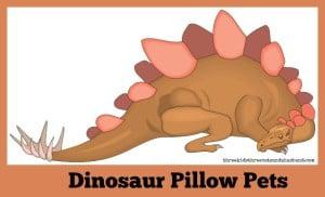 dinosaur pillow pets