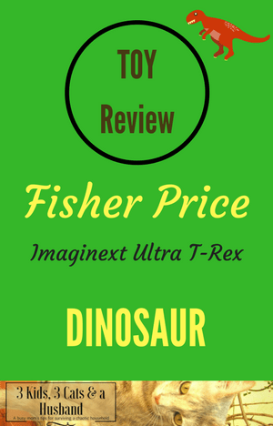 Fisher Price Imaginext Ultra T-Rex Dinosaur Toy Review