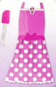 minnie-mouse-apron-set