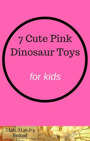 Pink Dinosaur Toys