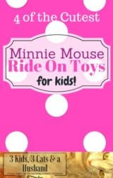 Minnie Mouse Ride On Toys