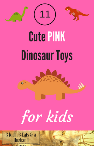 Pink Dinosaur Toys for Girls
