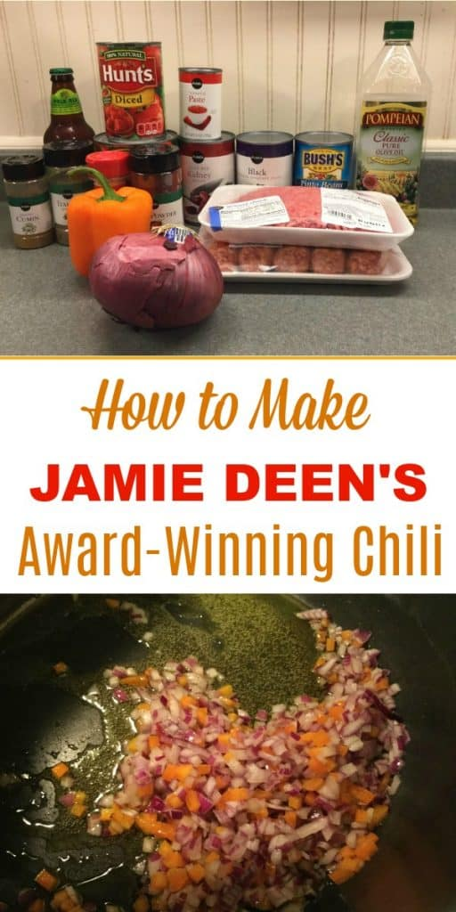 How to make Jamie Deen's award winning chili