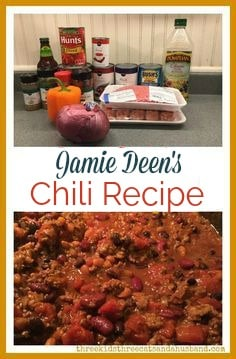 Looking for an award-winning 5 star homemade chili recipe? Heres Jamie Deens homemade chili with beer -- the best chili with Italian sausage and ground beef we have ever had!