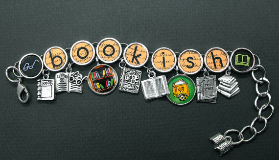 Book Lovers' Charm Bracelet