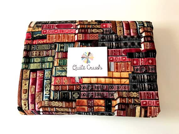 Quilt Blanket of Library Books