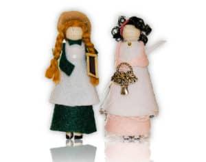 Anne of Green Gable Doll Ornament Kit
