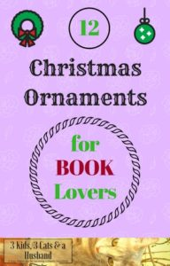 Awesome Christmas Ornaments for Book Lovers