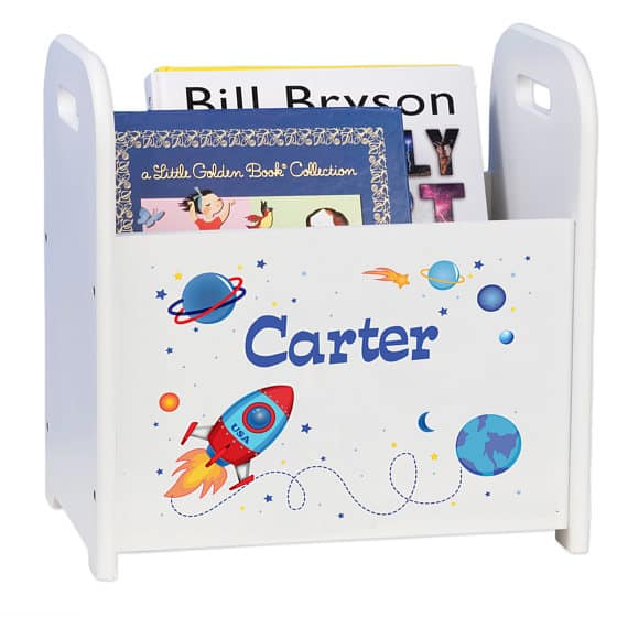 Personalized Book Caddy for Kids