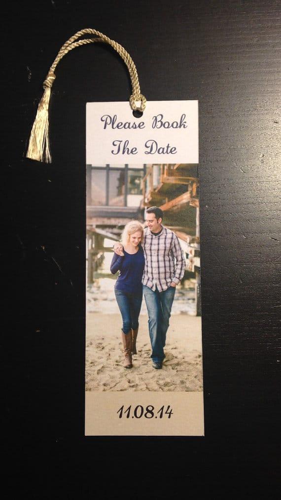Save the Date Custom Bookmark