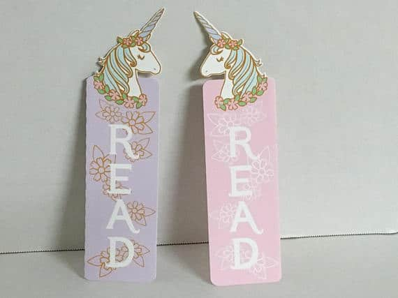 Girls Unicorn Bookmark