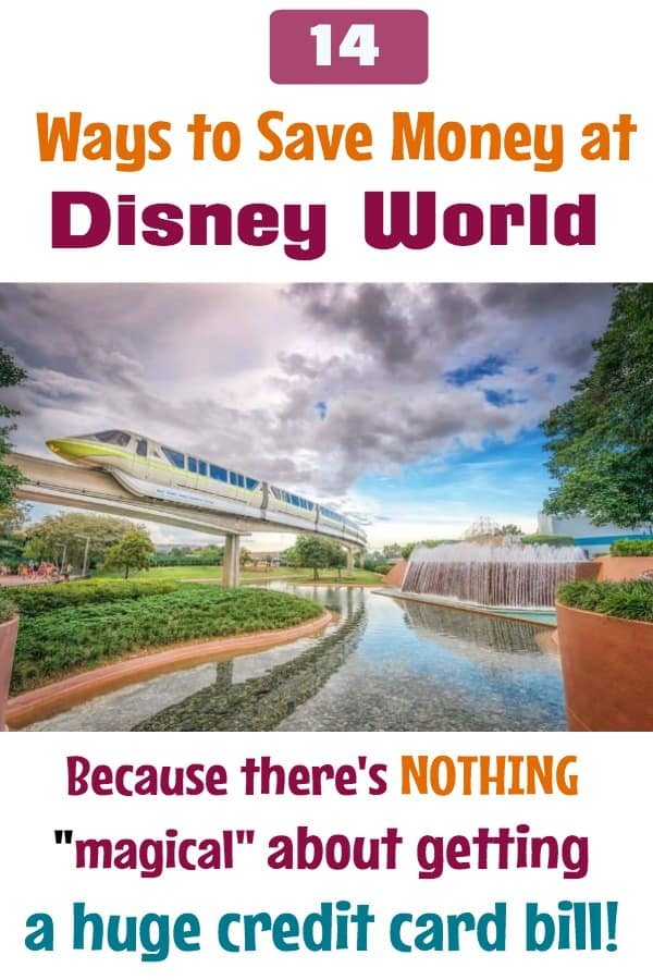 Save Money at Disney World on food, tickets, and souvenirs