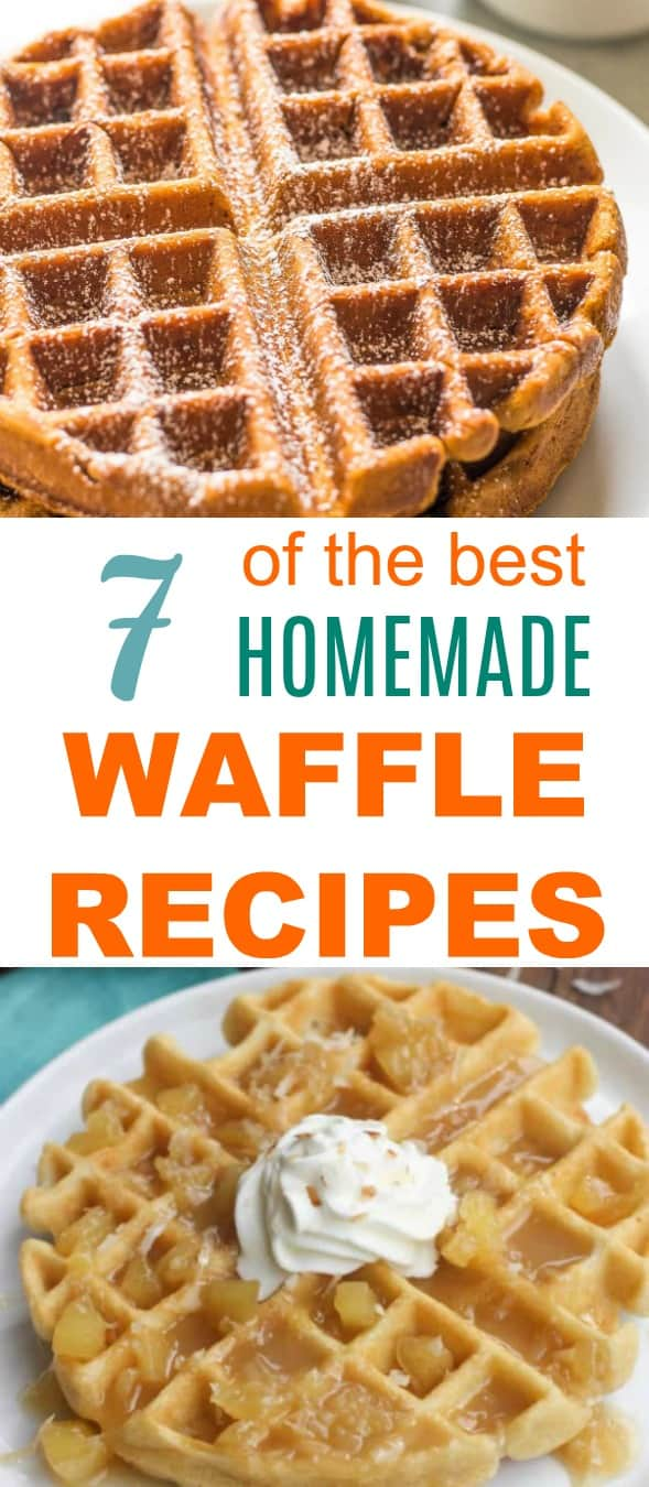 7 of the Best Homemade Waffle Recipes