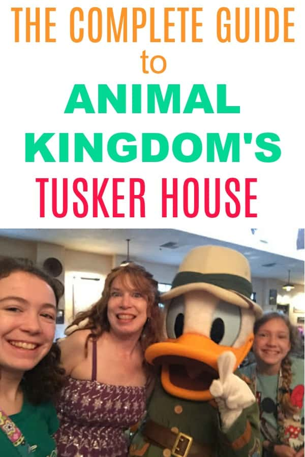 Tusker House Breakfast Review character meal in Animal Kingdom