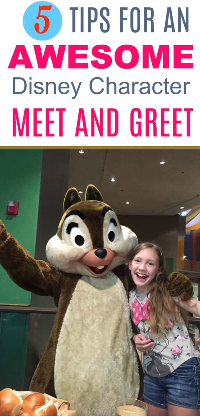 5 Tips for an Awesome Character Meet and Greet at the Disney Parks