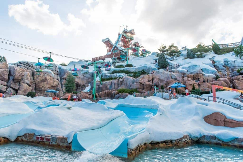 Blizzard Beach water park at Disney World