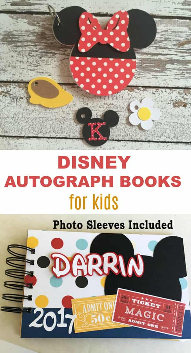 6 Personalized Walt Disney Autograph Books that Kids Will Love