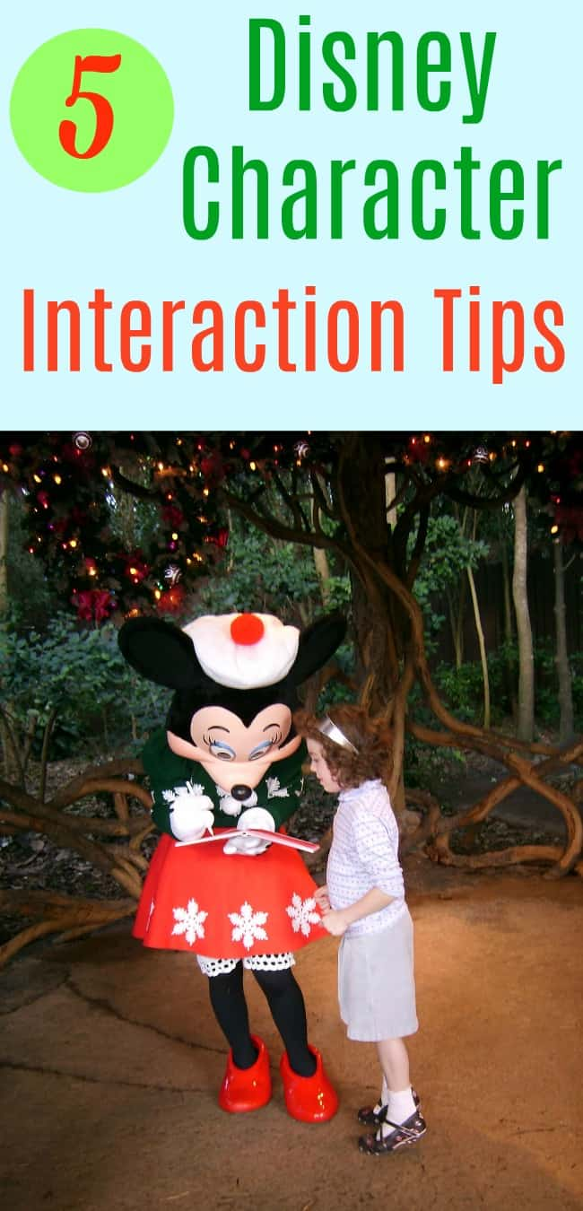 Disney Character Meet and Greet and Interaction Tips