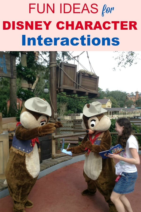 Tips and Ideas for fun Disney character interactions at the Magic Kingdom, Hollywood Studios and other Disney World parks. Have an awesome meet and greet with your kids on your families' vacation! Includes pictures.