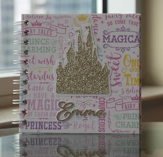 Gold Castle Walt Disney Autograph Book