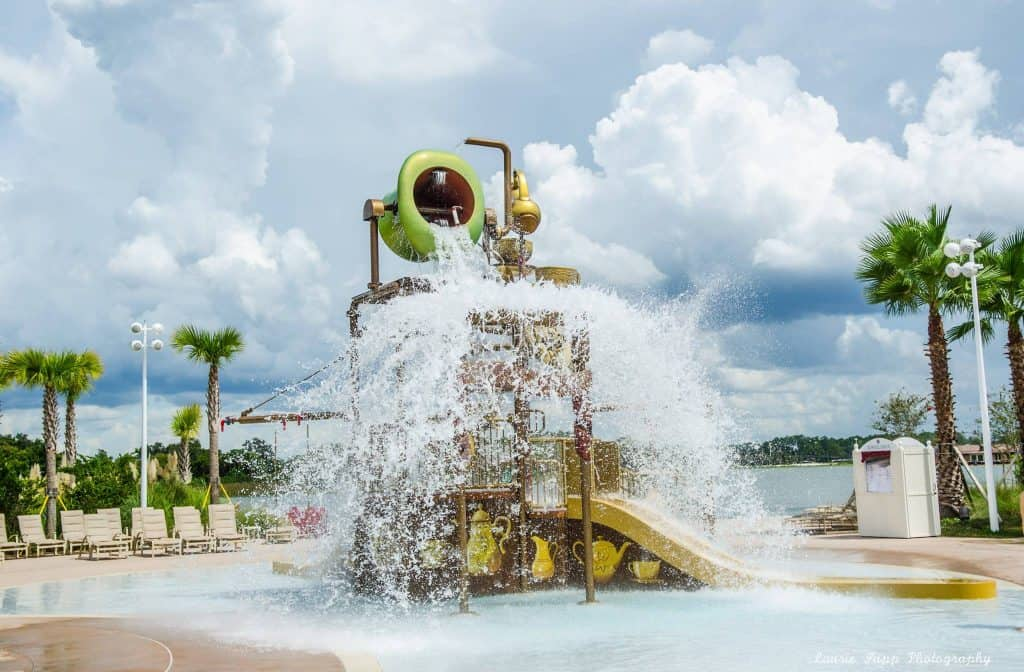 Disney's Grand Floridian Beach Pool Water Play Area